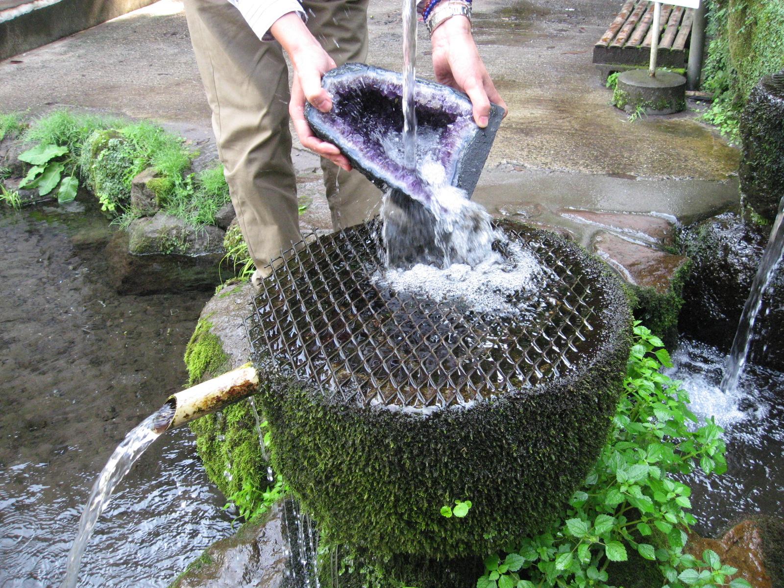 水による浄化方法