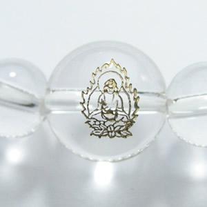 干支守護神・守り本尊 水晶8mm数珠ブレスレット