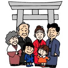 七五三 「人生儀礼・家庭のお祝い行事」