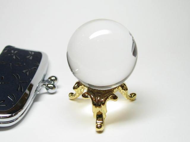 天然石の最高級水晶丸玉 パワーストーン