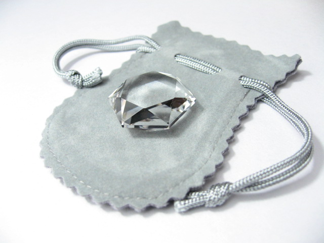 水晶カット六芒星