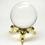 最高級 天然 水晶 丸玉1.2寸