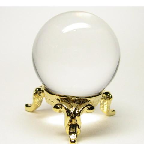 最高級 天然 水晶 丸玉1.3寸 鑑別書・台座付 丸玉は完璧な形であり念を入れるにも瞑想するにもしやすい形です。 一番使いやすい丸玉をあなたにお届けします。