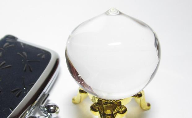 水晶の如意宝珠1.1寸