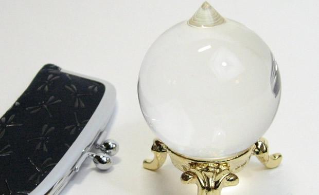水晶の如意宝珠1.4寸