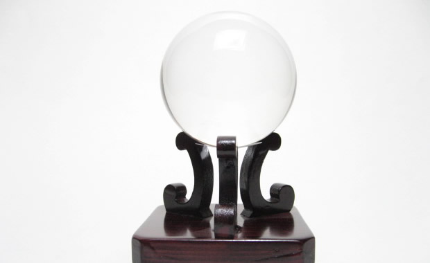 最高級 天然 水晶 丸玉1.6寸