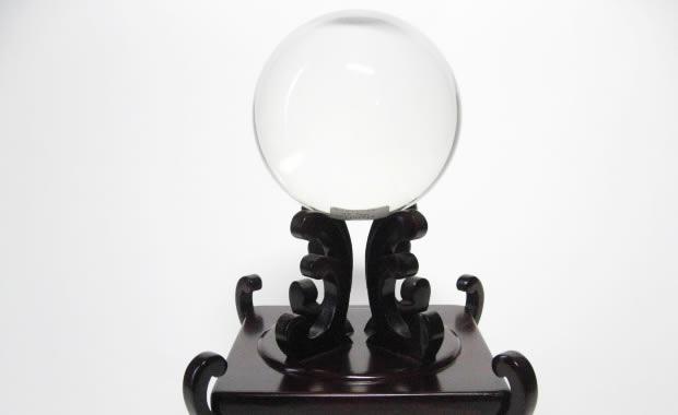 天然 水晶玉
