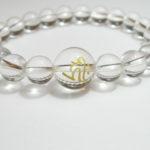 干支梵字「阿弥陀如来 キリーク」最高級天然 水晶8mm数珠ブレスレット