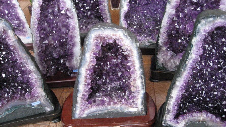 アメジストドーム原石
