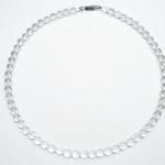 天然 水晶ネックレス 50cm