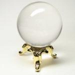 水晶 丸玉1.2寸 台座付